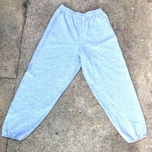 HANES MENS FLEECE JOGGERS/SWEATPANTS SIZE L 36-38